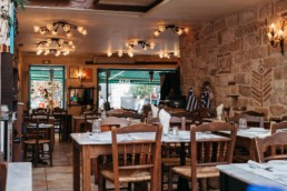 Cafés and restaurants in Athens