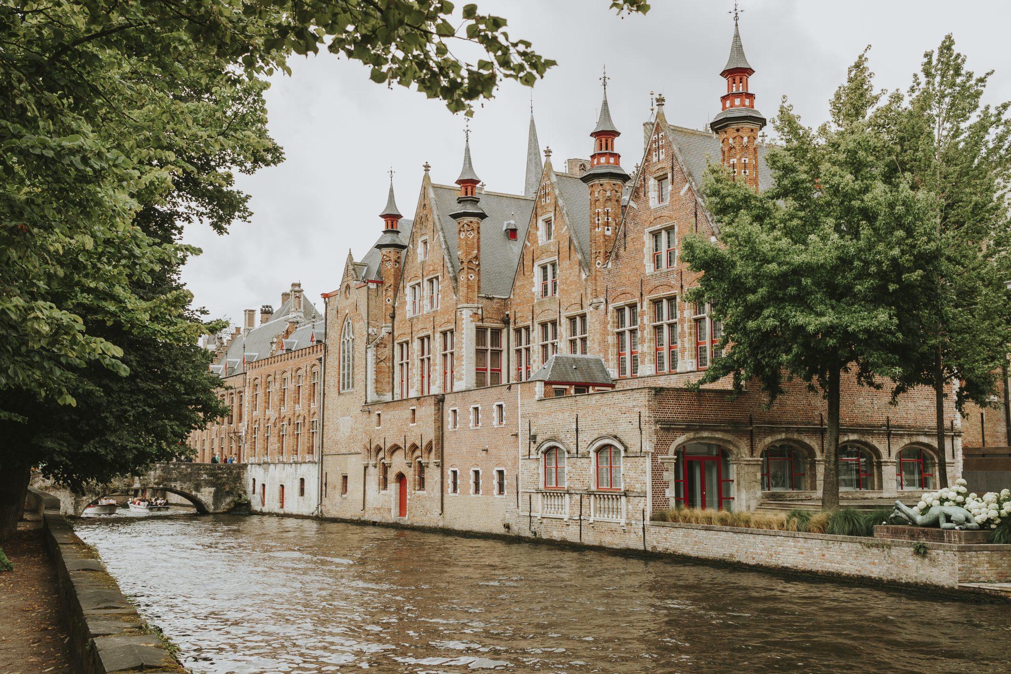 View of the Old Civil Registry, Bruges