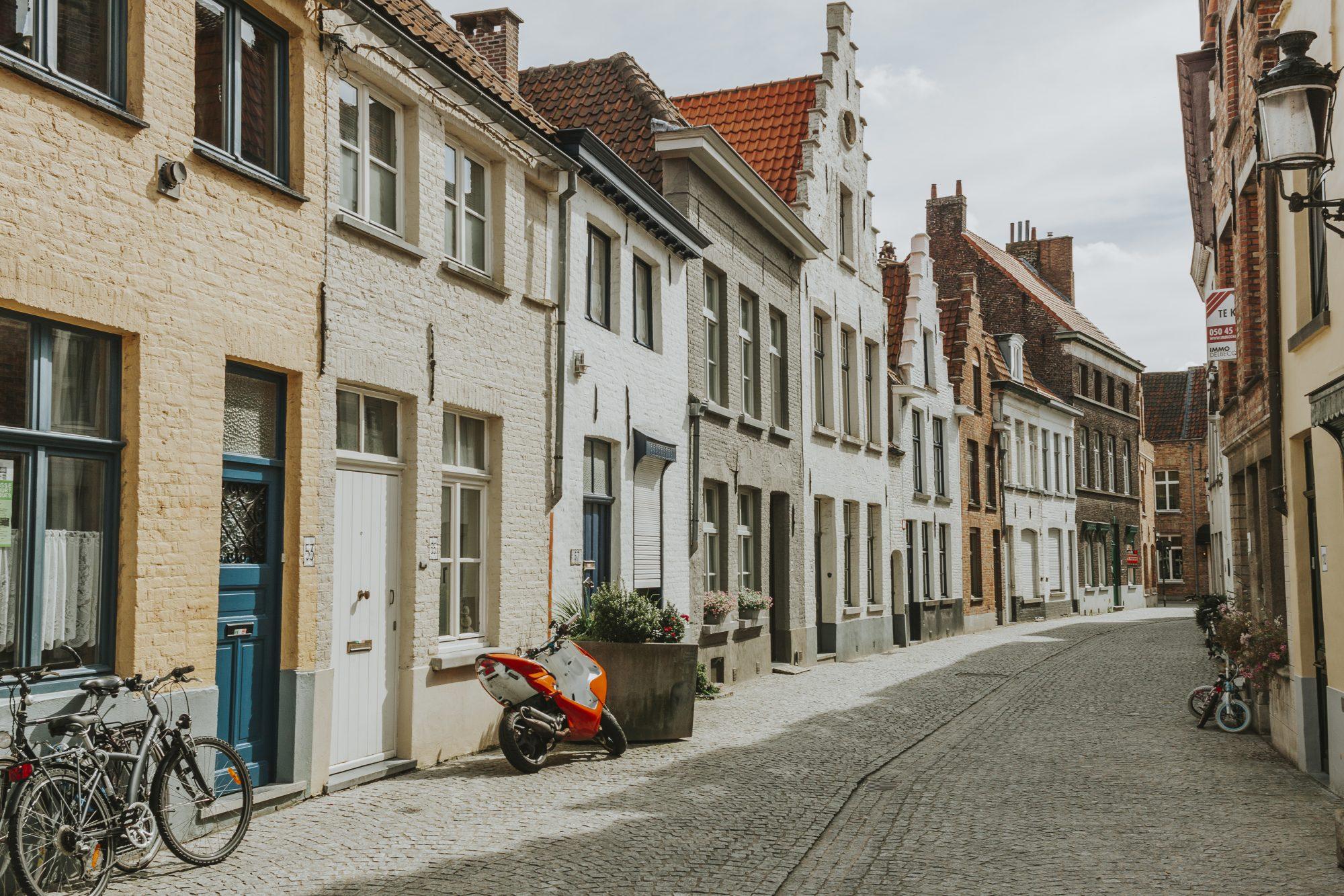 Quiet streets of Bruges