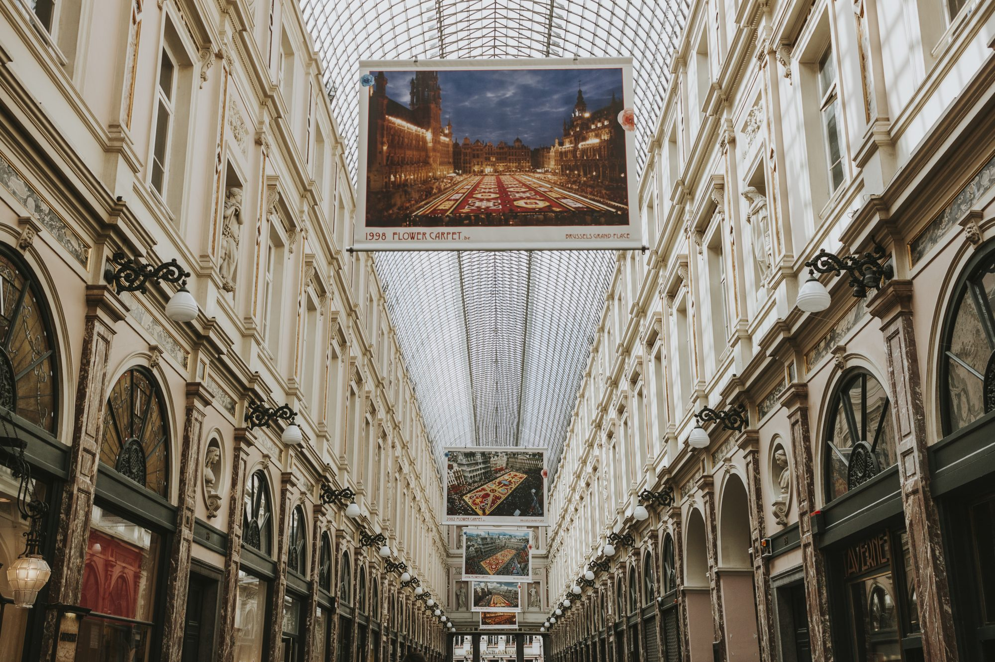Galeries Royales Saint-Hubert, Brussels
