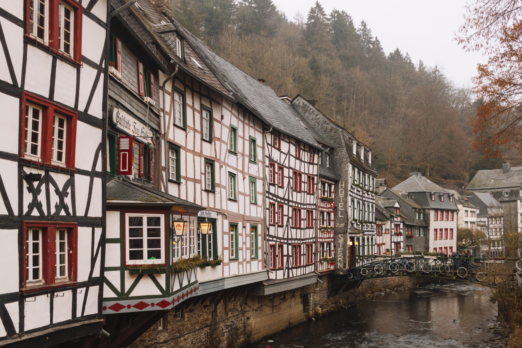 Facades of Monschau