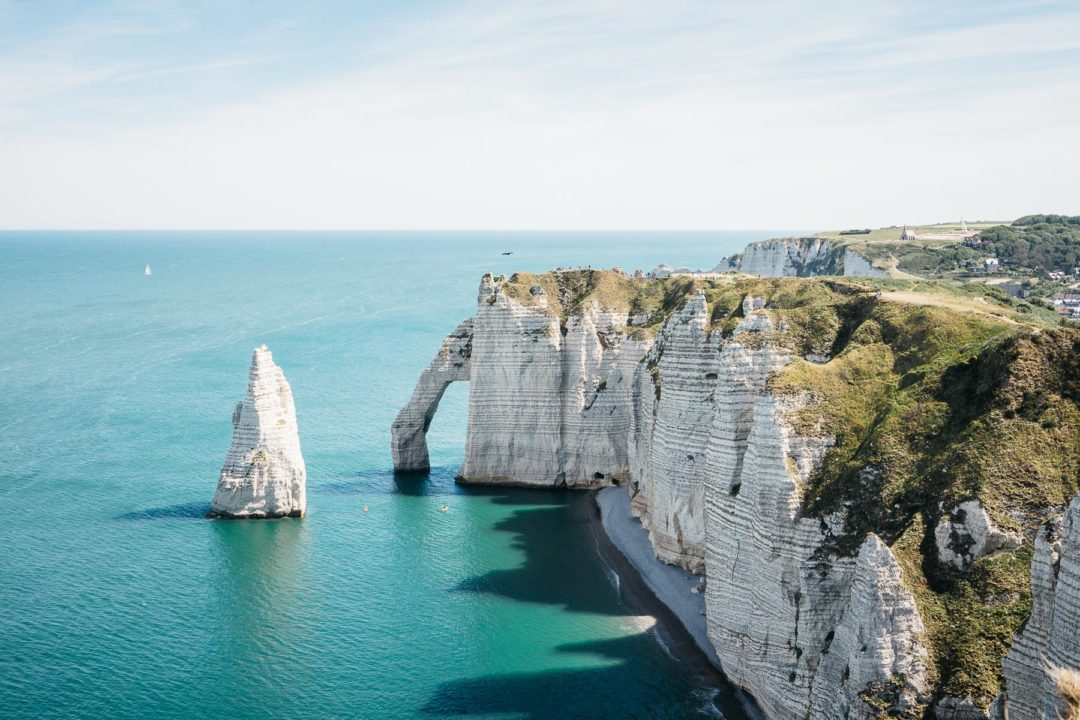 The cliffs of Étretat