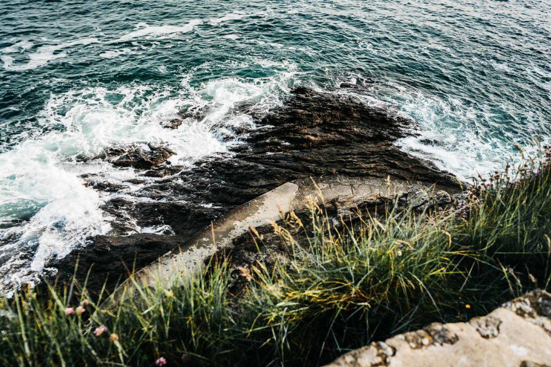 The emerald coast of Brittany