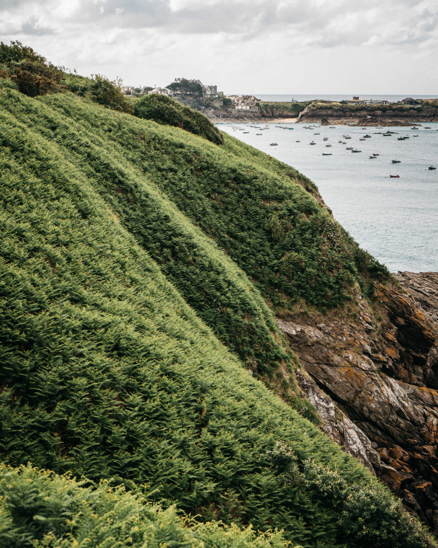 The emerald coast of Brittany