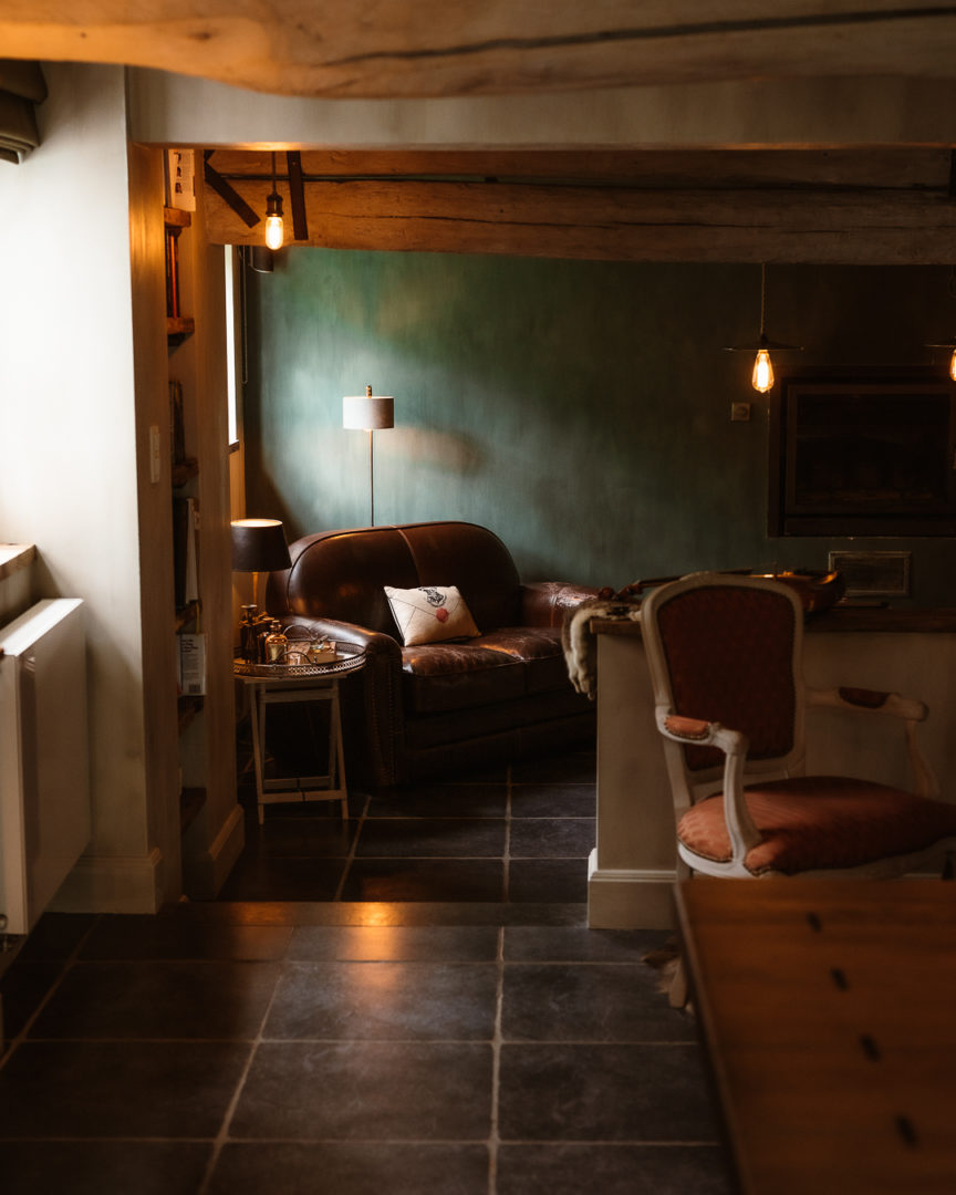 living room at la petite foret, a cozy holiday home
