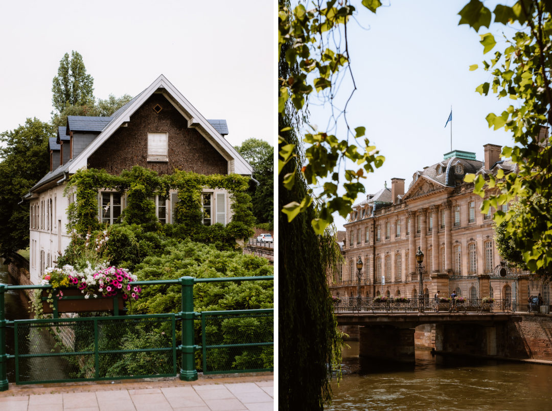 One day in Strasbourg, walking the canals