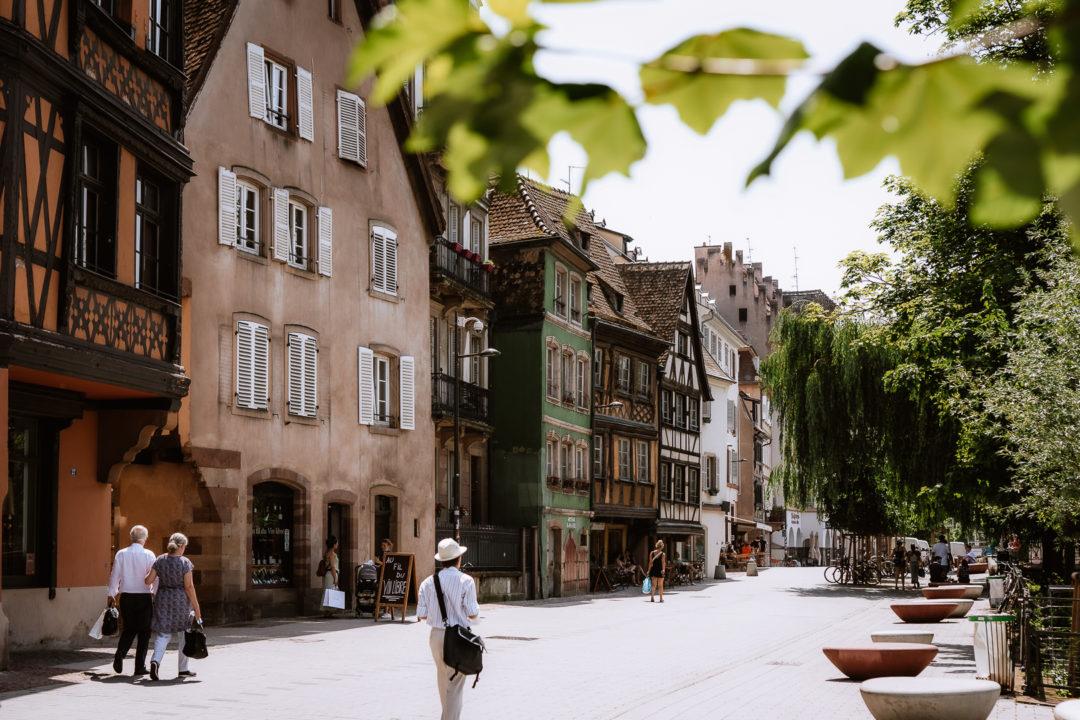 One day in Strasbourg, spent walking around it